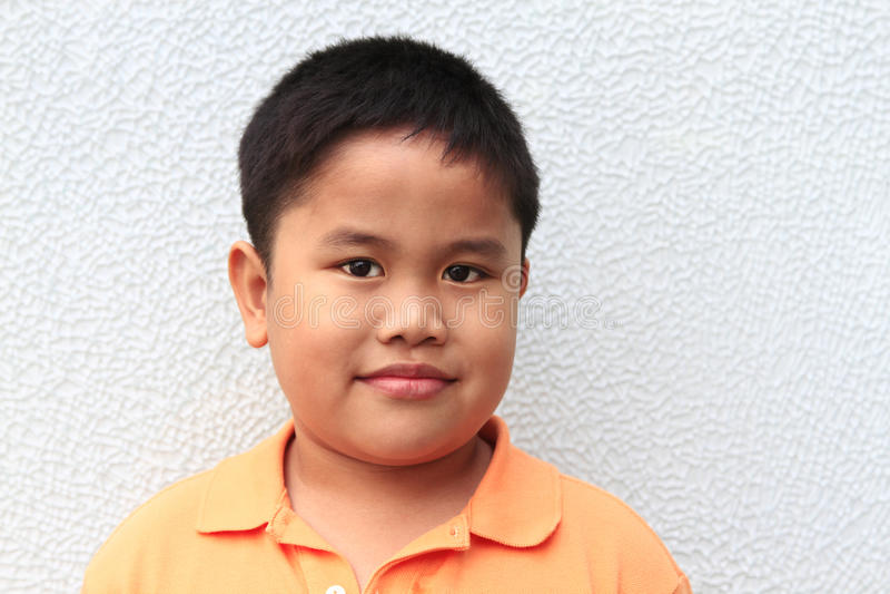 Muchacho joven inocente fotografía de archivo libre de regalías