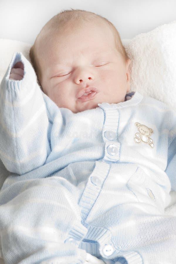 Muchacho recién nacido fotografía de archivo