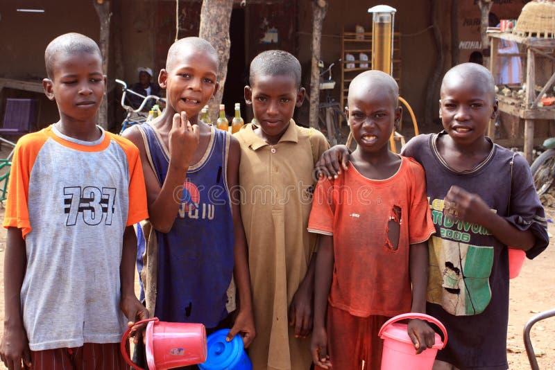 Muchachos africanos fotos de archivo