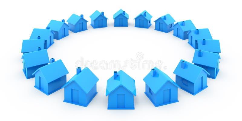 Muchas casas