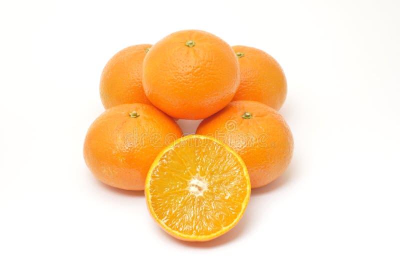 Muchas clementinas fotos de archivo