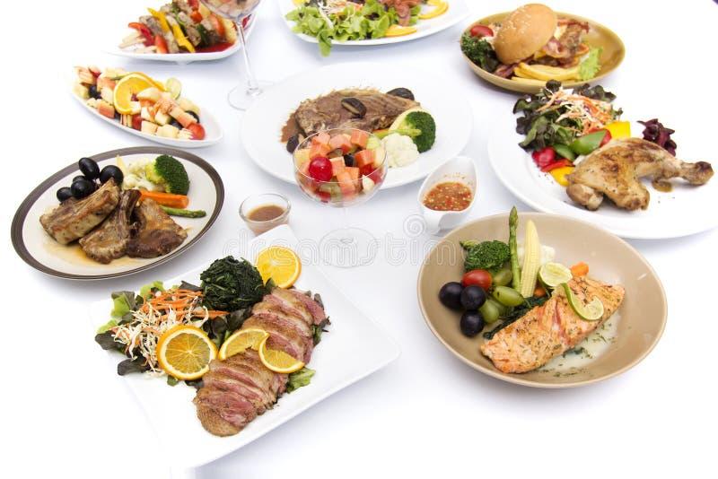 Muchas de comida internacional fotos de archivo