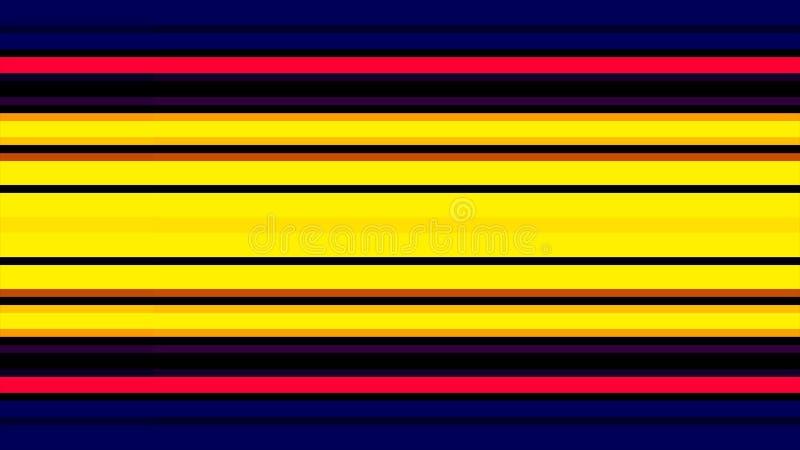 Muchas líneas coloridas fondo de la pared de Horisontal ilustración del vector