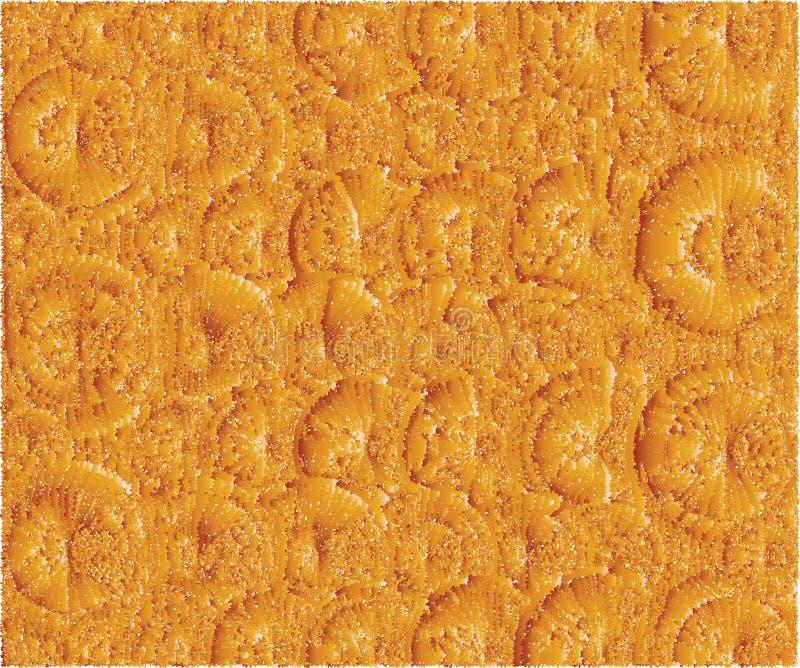 Muchas tapas, pareciendo naranjas libre illustration