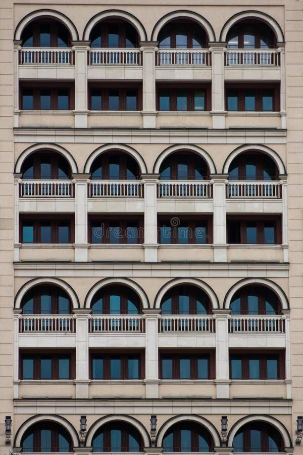 Muchas ventanas imagen de archivo
