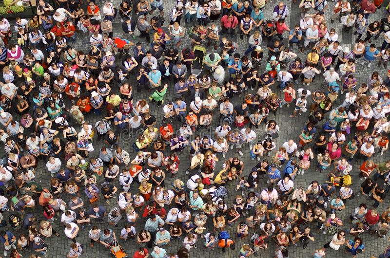 Muchedumbre imagen de archivo libre de regalías