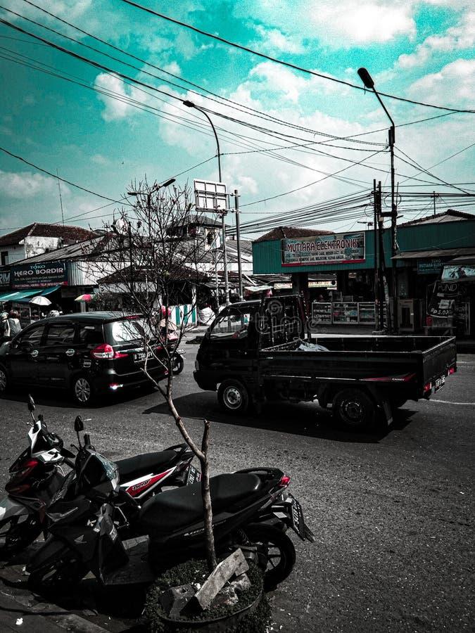 Muchedumbre en la ciudad fotos de archivo
