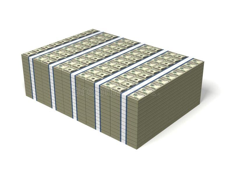 Mucho dinero libre illustration