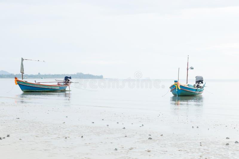 Muchos barcos de pesca fotografía de archivo