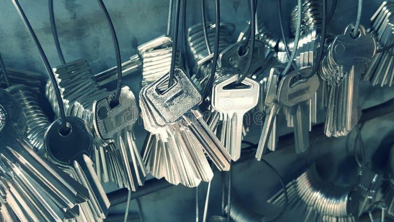 Muchos dominante usado para copiar llaves foto de archivo libre de regalías