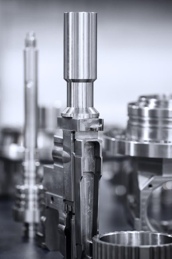 Muchos tipos de metal detallan el fondo del diseño industrial imagenes de archivo