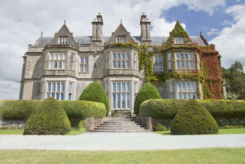 Muckross Haus im Killarney-Nationalpark, Irland stockfoto