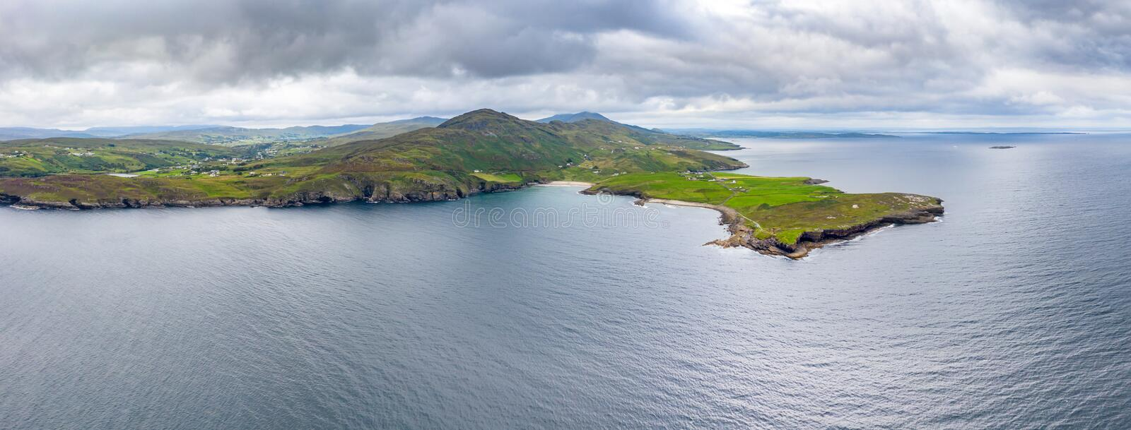 Mucross Head is a small peninsula about 10km west of Killybegs in County Donegal in north-west Ireland and contains a. Popular rock-climbing area, noted for its royalty free stock image