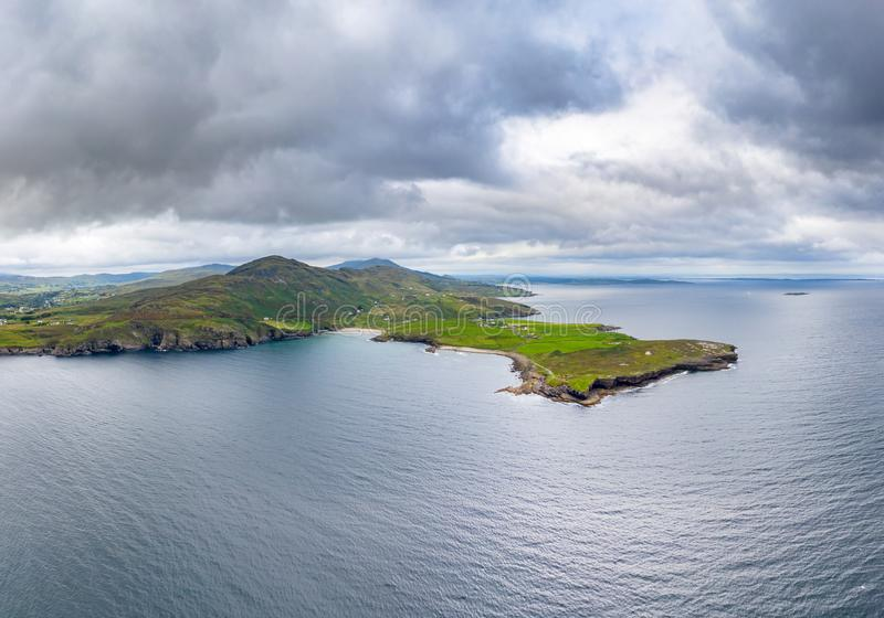 Mucross Head is a small peninsula about 10km west of Killybegs in County Donegal in north-west Ireland and contains a. Popular rock-climbing area, noted for its royalty free stock images