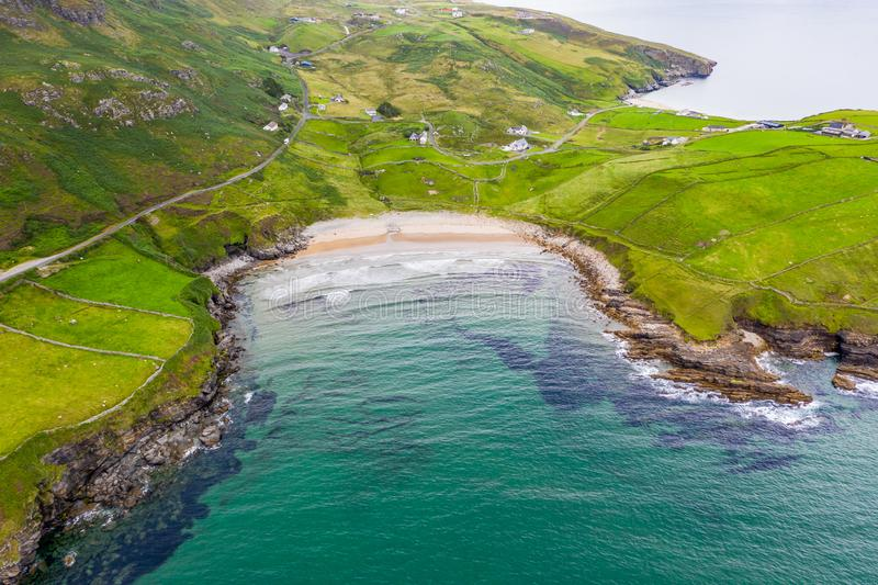 Mucross Head is a small peninsula about 10km west of Killybegs in County Donegal in north-west Ireland and contains a. Popular rock-climbing area, noted for its stock photo