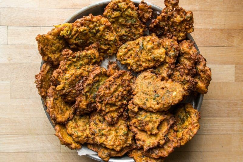 Mucver/Gebraden courgette/Turks Voedsel stock foto's