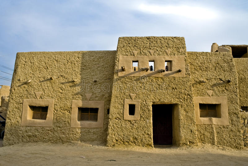 Mud brick house stock image image of kiln architecture for How to build adobe homes