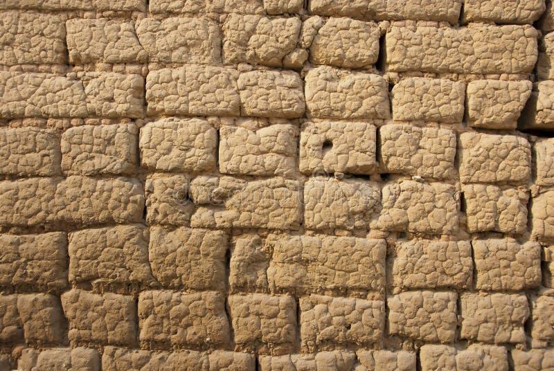 Mud Brick Wall Stock Photo. Image Of Cement, Decor, Design