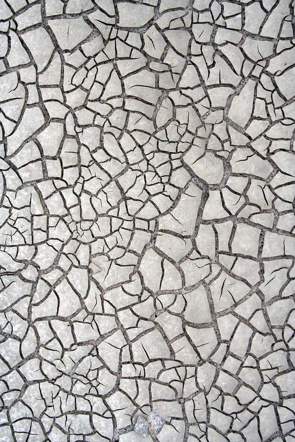 Mud Cracks. The recent floods have left beautiful cracks in the dried mud royalty free stock photography