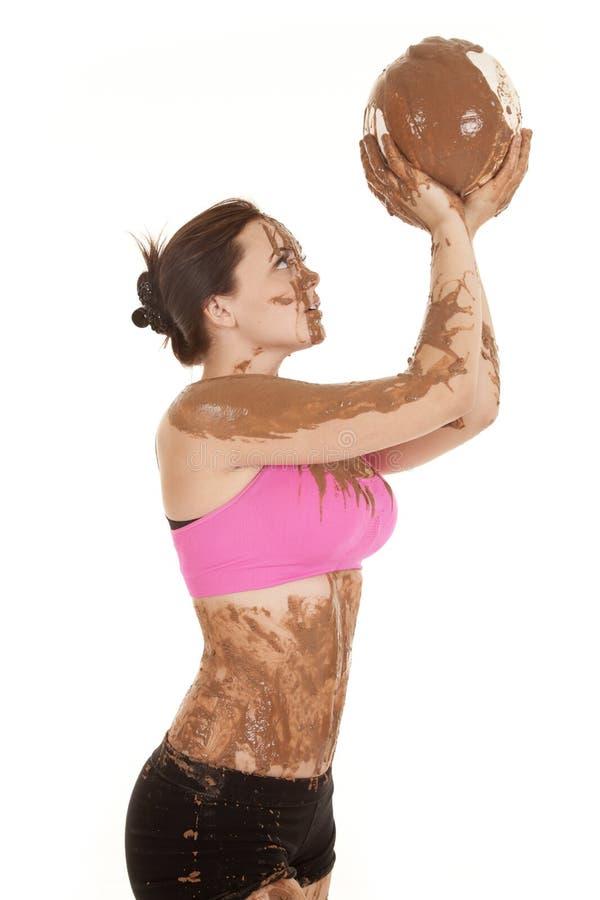 Mud girl ball