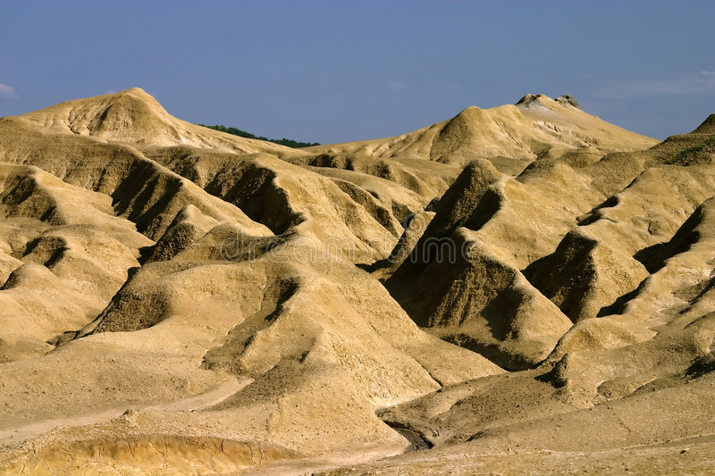 Mud Hill Landscape Stock Photos
