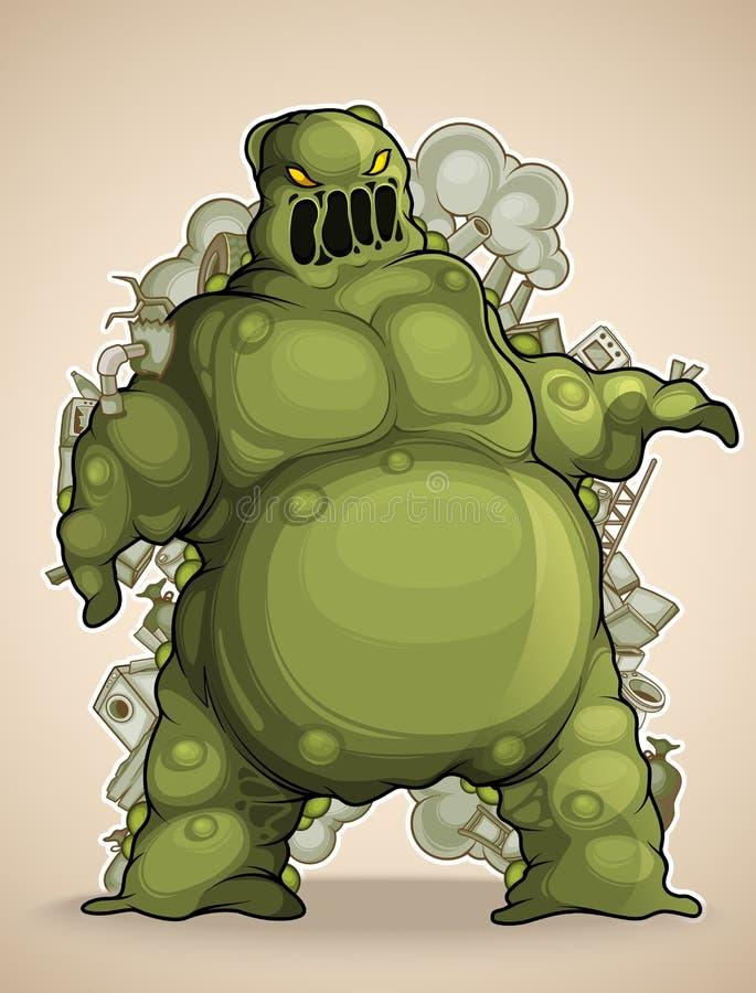 Mud Monster stock image