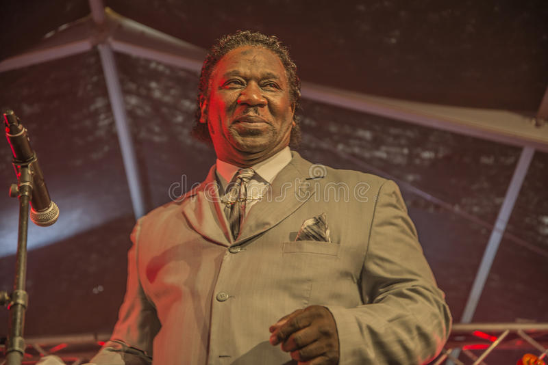 Mud Morganfield, Usa, Notodden Blues Festival Editorial Image