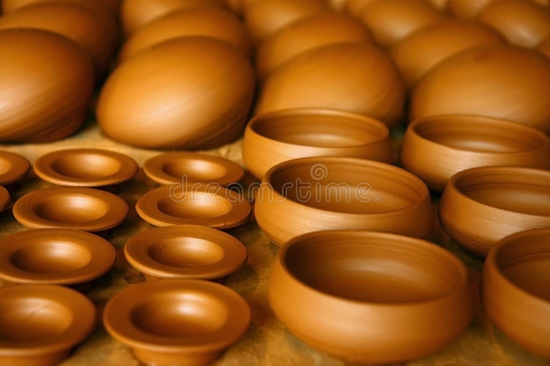 Download Mud pots stock photo. Image of dish, container, plant - 12041744