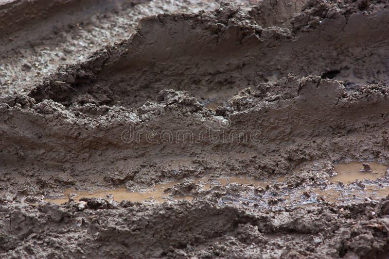 Download Mud on the road stock image. Image of sludge, ordure - 23967009