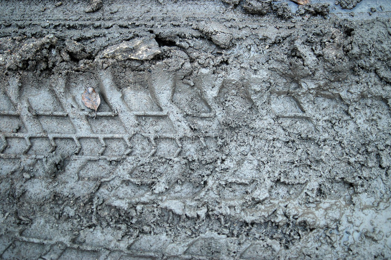 Download Mud tracks stock photo. Image of slippery, clay, activity - 36718