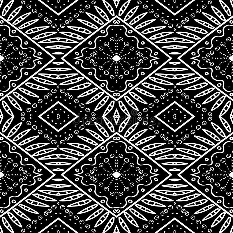 Mud Tribal Mexico Design illustrazione vettoriale