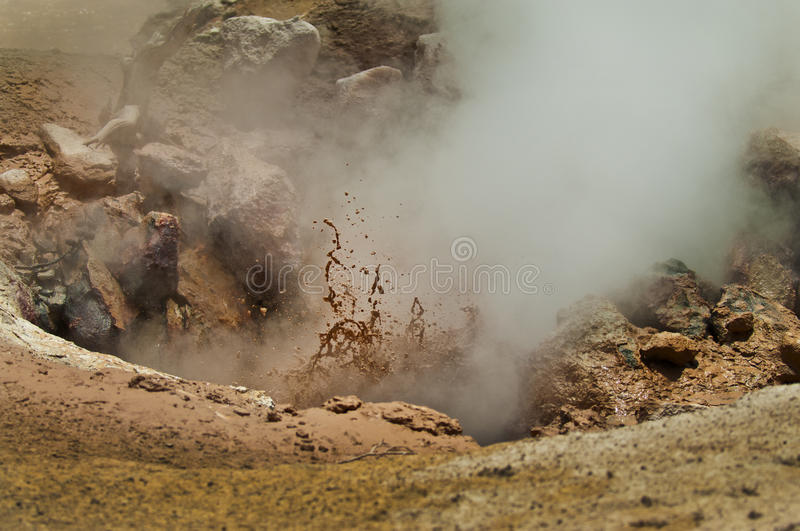 Download Mud Volcano stock image. Image of high, earth, volcano - 23288745