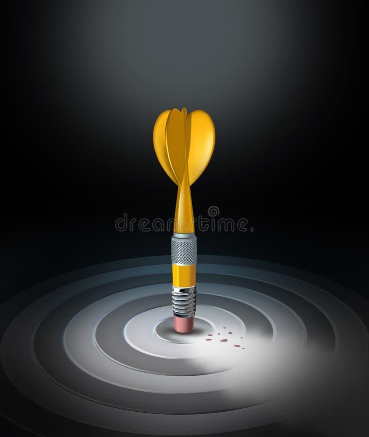 Mudança da estratégia ilustração do vetor