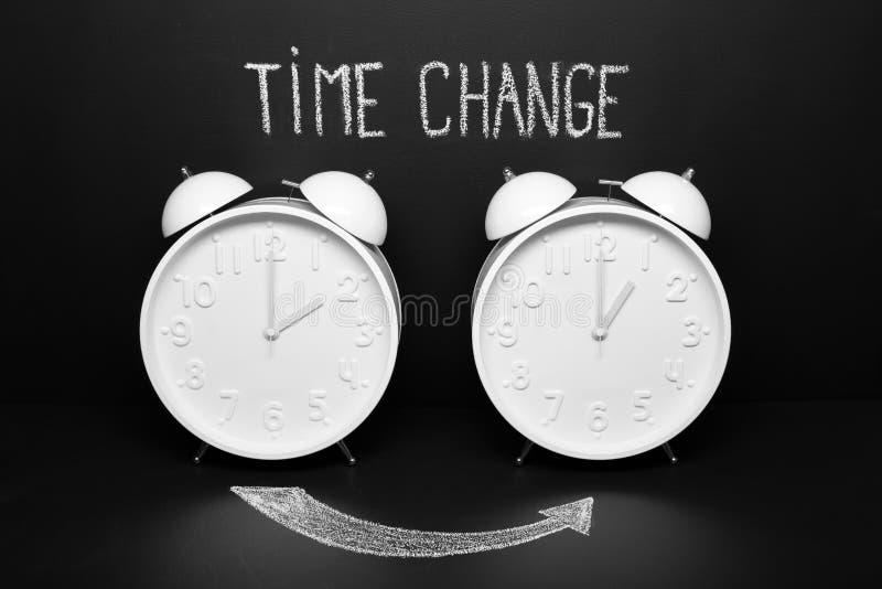 A mudança de Autumn Time recua o conceito fotos de stock royalty free