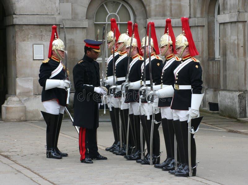 Mudança do protetor Londres fotografia de stock royalty free