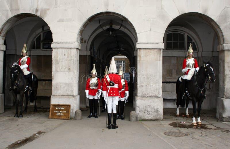 Mudança do protetor Londres fotos de stock royalty free