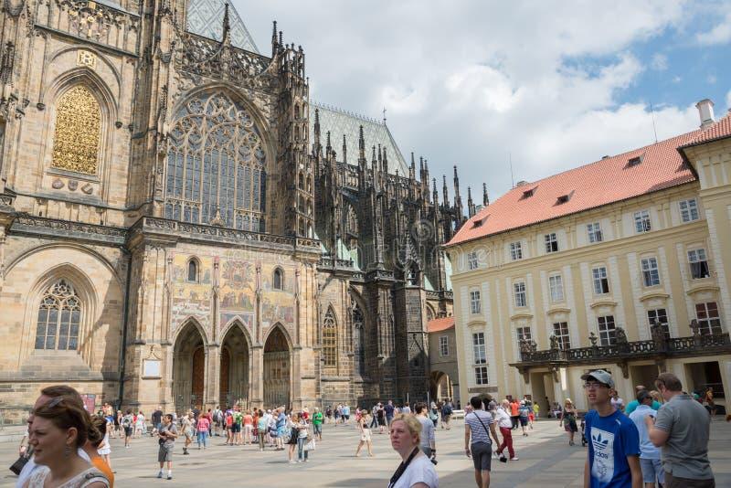 Mudança do protetor Praga - Checo fotografia de stock royalty free