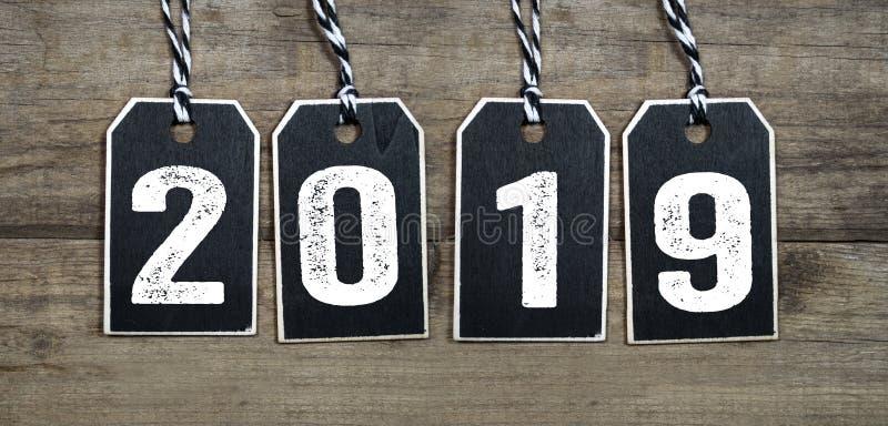 Mudanças da mudança da véspera de anos novos 2019 de ano novo feliz As mudanças do ano novo tudo fotografia de stock