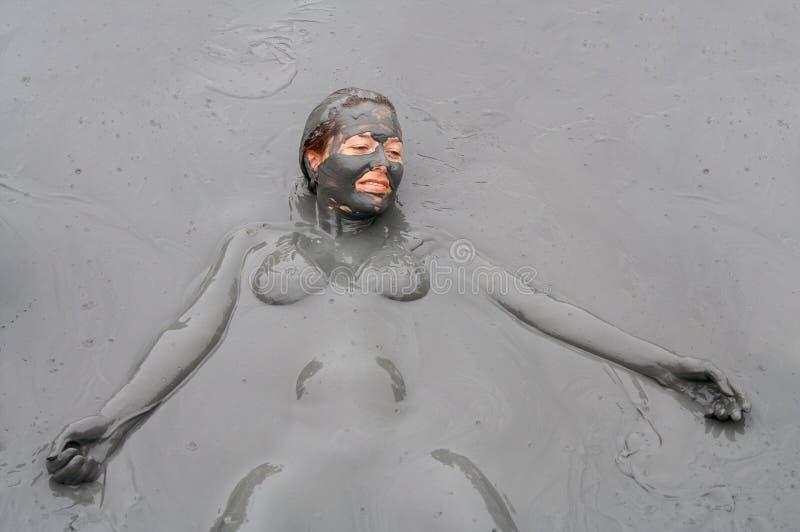 mudbehandling arkivfoto