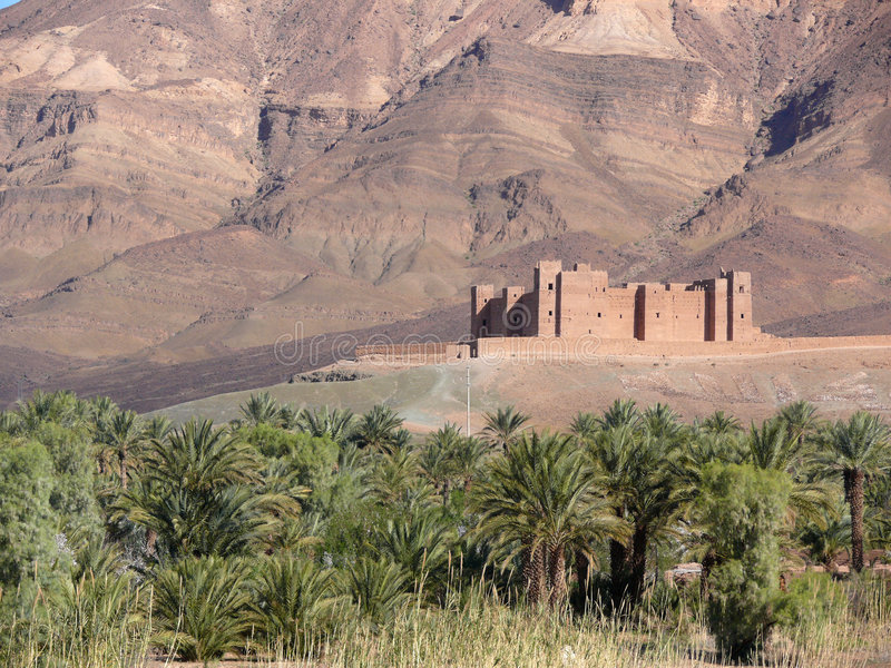 Download Mudbrick stronghold stock image. Image of morocco, africa - 8591949