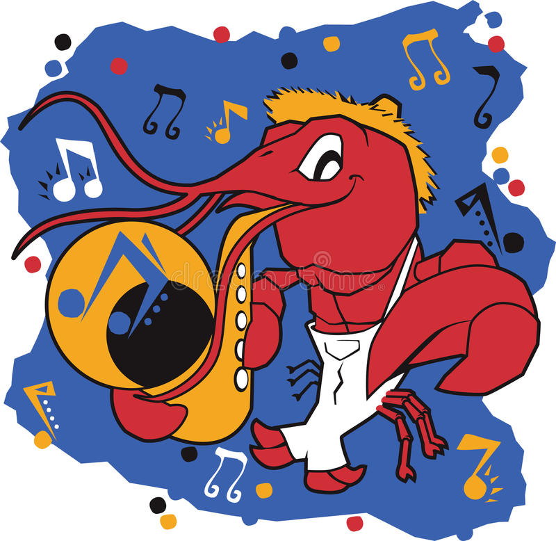 Mudbug musical ilustração royalty free