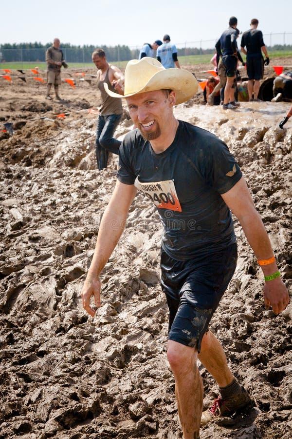 Mudder dur : Cowboy Mudder Runner image stock