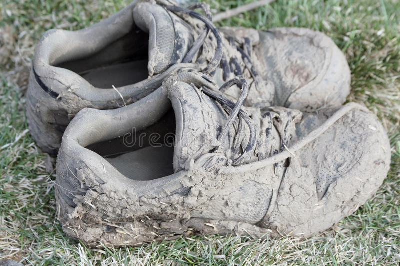 Download Muddy Shoes stock photo. Image of shoe, shoes, outdoors - 14704032