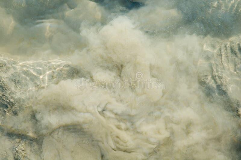 Muddy water stock photography