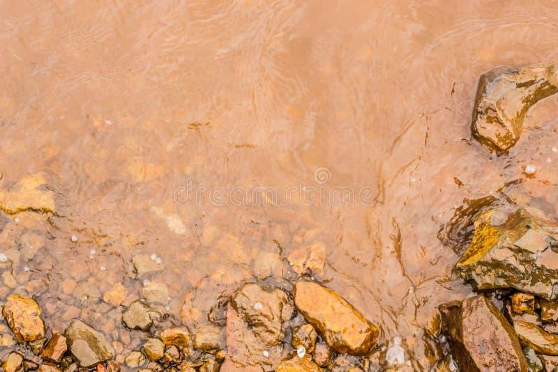 Muddy Water Waves de Panshet fotografía de archivo libre de regalías