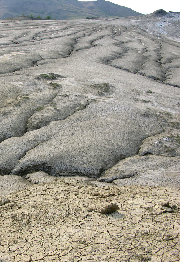 Muddy Wulkan Zdjęcia Stock