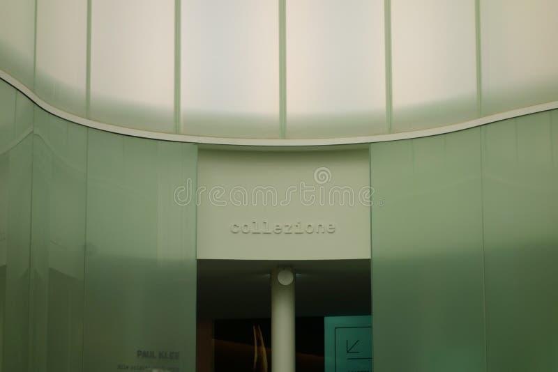 MUDEC-museum i Milan arkivbilder