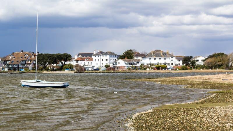 Mudeford Dorset Inglaterra foto de archivo libre de regalías