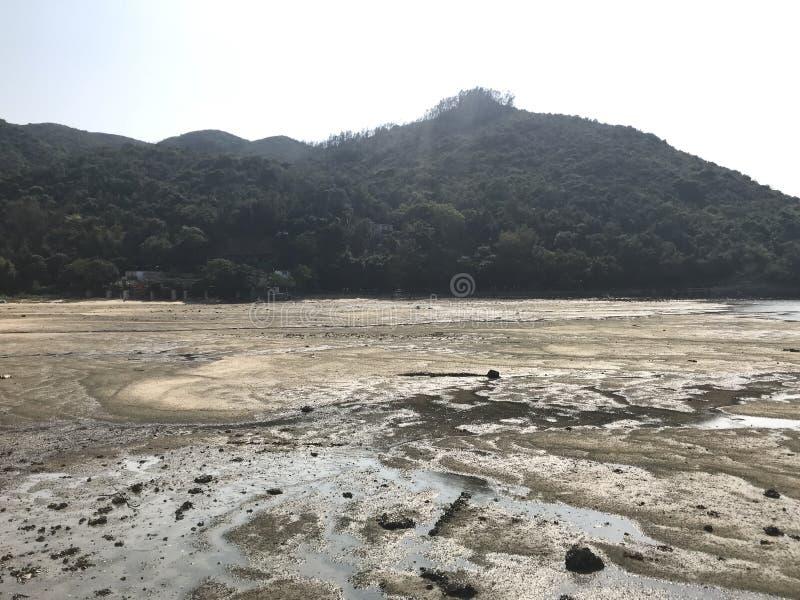 Mudflat sur Sok Kwu Wan photos libres de droits