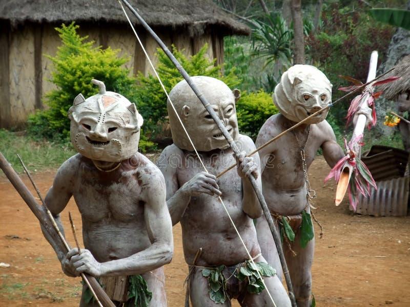 Mudman Papua foto de archivo